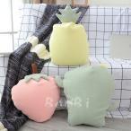 クッション おしゃれ ぬいぐるみ 抱き枕 オフィス 腰痛 腰枕 ソファー ベッド 飾り いちご パイナップル
