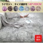 ラグ カーペット ラグマット 絨毯 床暖房対応 オールシーズン おしゃれ 洗える 滑り止め 140×200cm