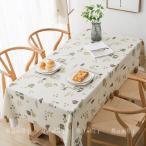 テーブルクロス 食卓カバー ins 送料無料 テーブルマット 食卓 カバー 長方形 シンプル 花柄 撥水 撥油加工 各サイズ PVC 北欧風