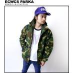 ECWCS パーカー(ウッドランド)【 ゴアテックスPK レプリカ 】 -R-( マンパ カモフラ アウター ミリタリー 迷彩柄 アメカジ )