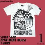 セブンスターマンション Tシャツ -G- メンズ レディース パンク ロック ハードコア コラボ 半袖