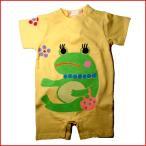 名入れ出産祝いベビー服 蛙ロンパース