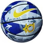 人気 ナイキ BS3007-987 ゴムバスケットボール7号球 ナイキKDプレイグラウンド8P ラッシュブルー/アマリロ