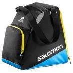 セール 16-17 サロモン 【L38280500】 スキーブーツケース エクステンドギアバッグ ブラック×プロセスブルー×コロナイエロー