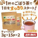 ごぼう茶 ティーパック 3g×15袋×2 国産 ダイエット茶 牛蒡