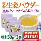 生姜 粉末 鹿児島県産 50g×3袋 パウダー 保温