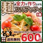 スパゲティ生パスタ5食セット ゆうメール便 お試し セ