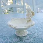 ローズレリーフ 天使トレーホワイト画像