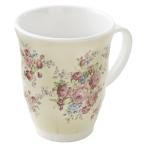 マグカップ メラミン クロエローズ ビクトリアローズ 薔薇 花柄 おしゃれ かわいい プレゼント