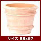 ショッピング鉢 植木鉢 テラコッタ カルモー FR1 XLサイズ