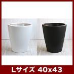 植木鉢 陶器鉢 ルッカ PR1 マット Lサイズ