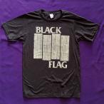 日本未入荷!VTG-T ロックTシャツ  BLACK FLAG サイズ S  -   数量限定