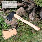 英国 Burgon&Ball 手斧 ヘッドカバーレザー製付き