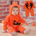 Yahoo!バルサ堂ヤフーショップ店ハロウィン コスプレ ベビー かぼちゃ デビル 着ぐるみ 赤ちゃん コスチューム キッズ かわいい もこもこ 男の子 女の子