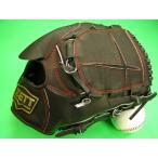 型付け無料 ゼット ZETT 海外モデル 硬式用 投手用 ブラック×レッド糸 小さめサイズ GOLD LINE QOALITY 高校野球対応カラー