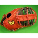 型付け無料 ベルガード BELGARD アメリカンスタイル ファーストミット レッド×ブラック 野球・ソフト兼用