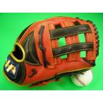 型付け無料 HATAKEYAMA ハタケヤマ 海外モデル 内野用 硬式野球対応 レッド×ブラック