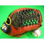 型付け無料 HATAKEYAMA ハタケヤマ 海外モデル 外野用 硬式野球対応 レッド×ブラック Tネットウェブ
