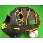 型付け無料 ルイスビルスラッガー LOUIDVILLE SLUGGER TPX 内野用 ブラック×タンヒモ 野球・ソフト兼用