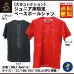 大谷コレクション デサント 野球 限定 ジュニア用 半袖 ベースボールシャツ Tシャツ DBJOJA...