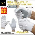 ミズノ シリコンパワーアークMI COOL 高校野球ルール対応モデル バッティンググローブ 1EJEH05510