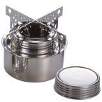 エバニュー アルコールバーナーセット ゴトク (EBY250) / ステンレス 燃焼器具