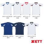 ZETT 野球用 ベースボール Vネックシャツ BOT760A zet16ss