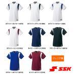 SSK ジュニア少年用 野球用 ベースボールシャツ 2ボタンプレゲームシャツ BW2080J ssk17fw