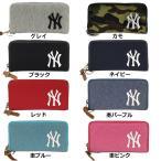 あすつく イーカム MLB 長財布 ニューヨークヤンキース 杢調 YK-WLT01
