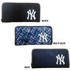 あすつく イーカム MLB 長財布 ニューヨークヤンキース YK-WLT09