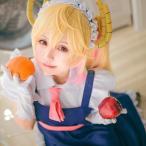 【即納品】小林さんちのメイドラゴン トール メイド服 コスプレ衣装