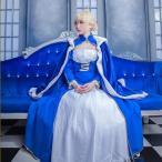 Fate/Grand Order FGO セイバー アルトリア ドレス コスプレ衣装 ハロウィン 変装 仮装 コスチューム cosplay イベント クリスマス