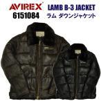 AVIREX(アビレックス) 6151084 B-3 ラムレザーダウンジャケット