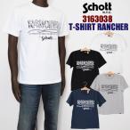 Schott ショット 3163038 RANCHER 半袖 プリントTシャツ メンズ schott SALE セール 20%OFF