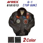 AVIREX アビレックス アヴィレックス 6181013 G-1 TOPGUN フライトレザージャケット メンズ 革ジャン ブルゾン トップガン avirex 5%OFF 送料無料