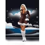 キュートなエスキモーコスチューム4点セット仮装コスチュームコスプレ/ドリームガール・仮装・ハロウィン・女性大人用
