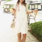 マタニティ 刺繍エスニックワンピース可愛い妊婦服 大きいサイズ 送料無料