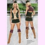 4265ロビンフッド4ピースセットパーティーハロウィン衣装/RomaCostumeローマコスプレ・仮装・ハロウィン・女性・大人用