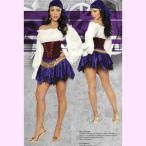 4311ジプシー5ピースセットパーティーハロウィン衣装/RomaCostumeローマコスプレ・仮装・ハロウィン・女性・大人用