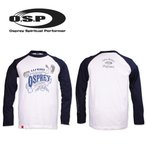 ●OSP ロングスリーブTシャツ モデル10 (ネイビー/ホワイト) 【メール便配送可】 【まとめ送料割】【osp10】