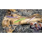 ゲーリーヤマモト 2.9インチ レッグワーム J80L 【メール便配送可】【wsg】