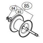 ●シマノ エクスセンスDC(03010)用 純正標準スプール (パーツ品番105) 【キャンセル及び返品不可商品】 【まとめ送料割】