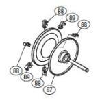 ●シマノ 15 カルカッタ コンクエスト 300 (右) (03359)用 純正標準スプール (パーツ品番105) 【キャンセル及び返品不可商品】