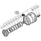 ●シマノ 15 セフィア SS C3000SDH (03483)用 純正標準スプール (パーツ品番105) 【キャンセル及び返品不可商品】
