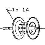 ●ダイワ スパルタンTW150H-L(4960652954969)用 純正標準スプール (部品コード129583) 【キャンセル及び返品不可商品】