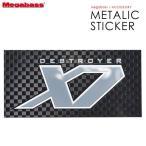 ●メガバス メタリックステッカー X7 (10cm) 【メール便配送可】 【まとめ送料割】