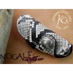 【送料無料】KC,s ノガレス キーケース パイソン 蛇革 キーケース メンズ レディース 革 レザー 本革