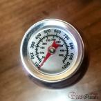 摂氏550℃・華氏1000F【ミニミニ温度計・正円・ねじ止め】ピザ窯・薪ストーブ・バーベキュー・グリルなどに。※直接火に当てないでください。※