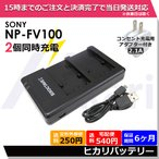 SONY NP-FV100USB互換充電器デュアルチャネル70/60/50/100/70/60/NP-FH50/NP-FP90/NP-FP70/NP-FP71