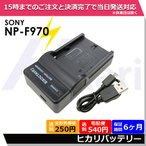 NP-F960 NP-FM500H SONY BC-TRM / AC-VQ900AM / BC-VM10 / AC-VQ850 / AC-V615 充電器USBチャージャー NP-FM500H 等